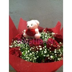 Bear Your Heart Bouquet