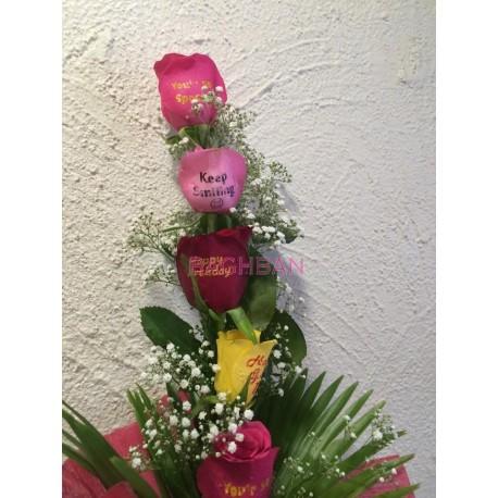 Speak Mix Massages Roses 2