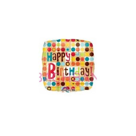 Dot Birthday Balloon