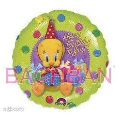 Tweety Birthday Balloon