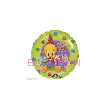 Tweety Birthday Balloon