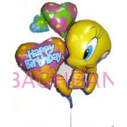 Tweety Birthday Bunch Balloon