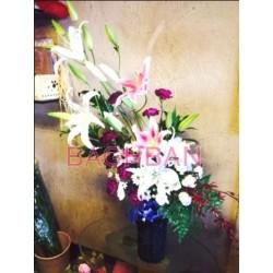 Loving Lilies & Carnations