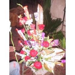 Mix Chocolates Bouquet