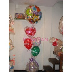 Congrats Balloon Bouquet