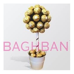 Golden Chocolates Bouquet