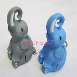 Lovely-elephant-Led-Sound-Keychain-Flash-Light-Torch